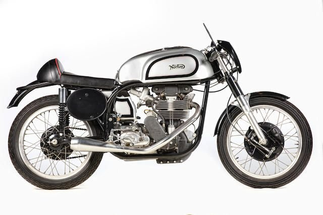 1954 NORTON 350CC MANX MODEL 40 RACING MOTORCYCLE (LOT 629) SOLD by Auction (picture 1 of 1)