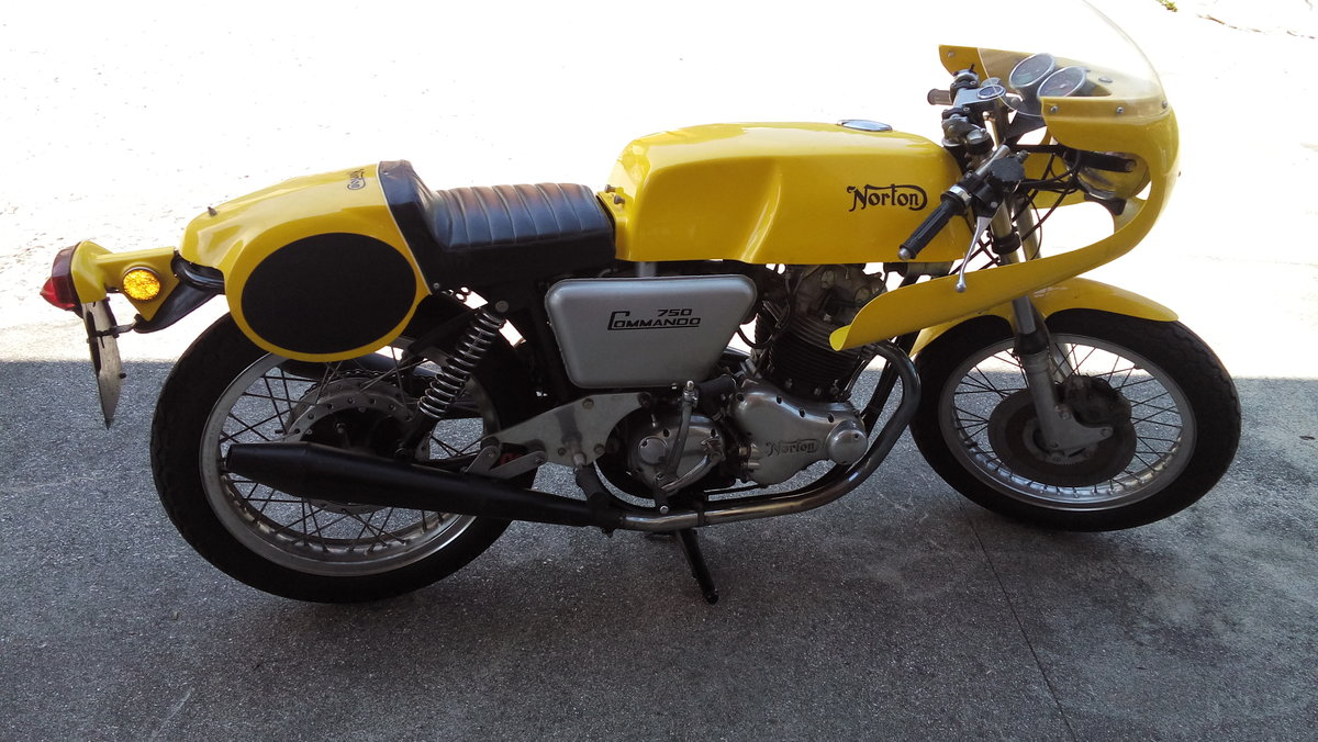1971 Norton COMMANDO PR Replica  For Sale (picture 3 of 6)