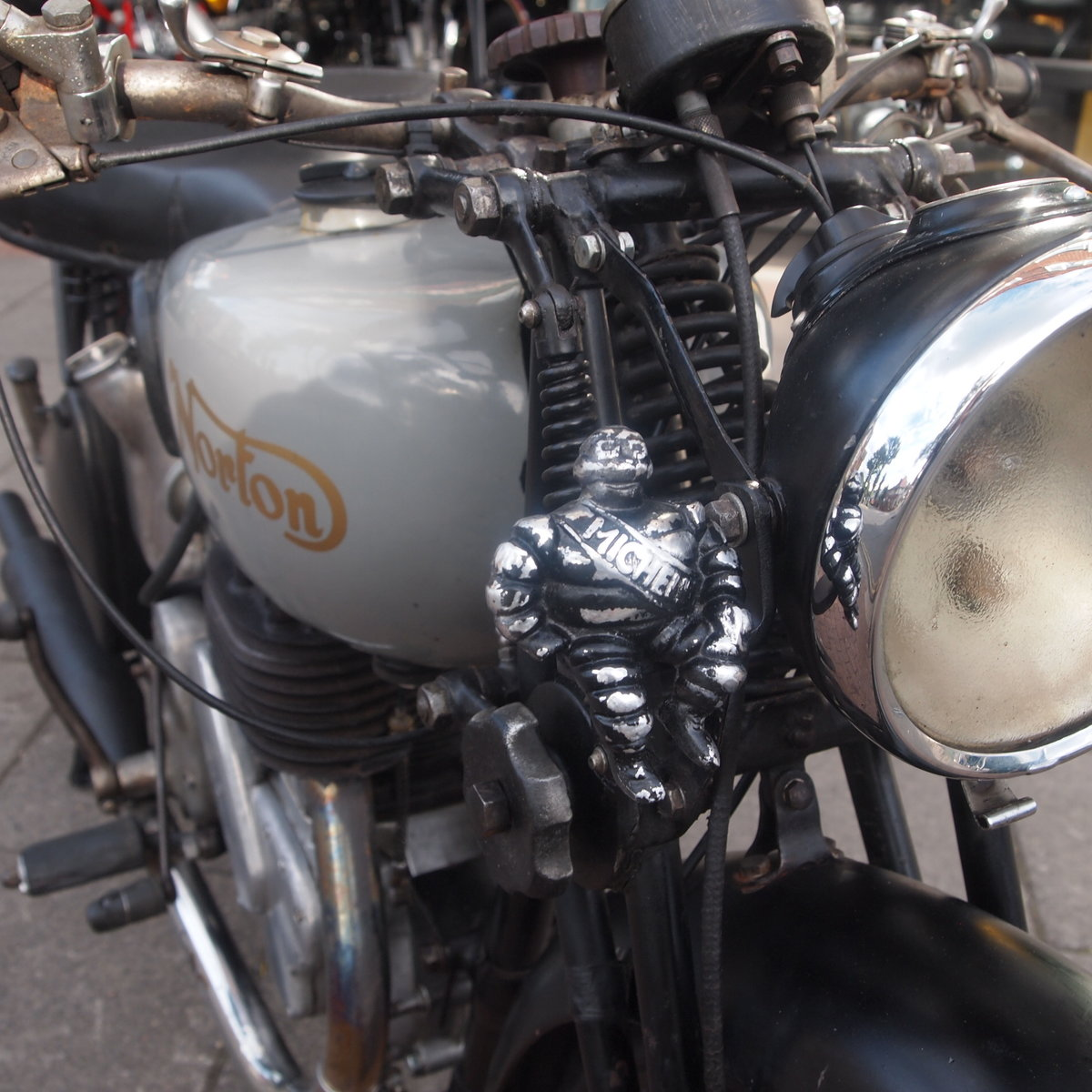 1946 Norton 16H Side Valve, Matching Numbers, Working Oily Rag. For Sale (picture 2 of 6)