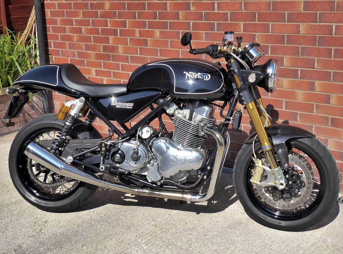 2012 NORTON 961 CAFE RACER/SF.  SOLD (picture 2 of 6)