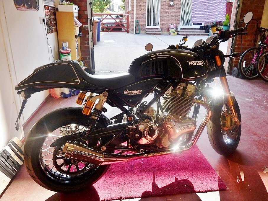 2012 NORTON 961 CAFE RACER/SF.  SOLD (picture 4 of 6)