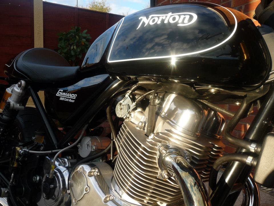 2012 NORTON 961 CAFE RACER/SF.  SOLD (picture 5 of 6)