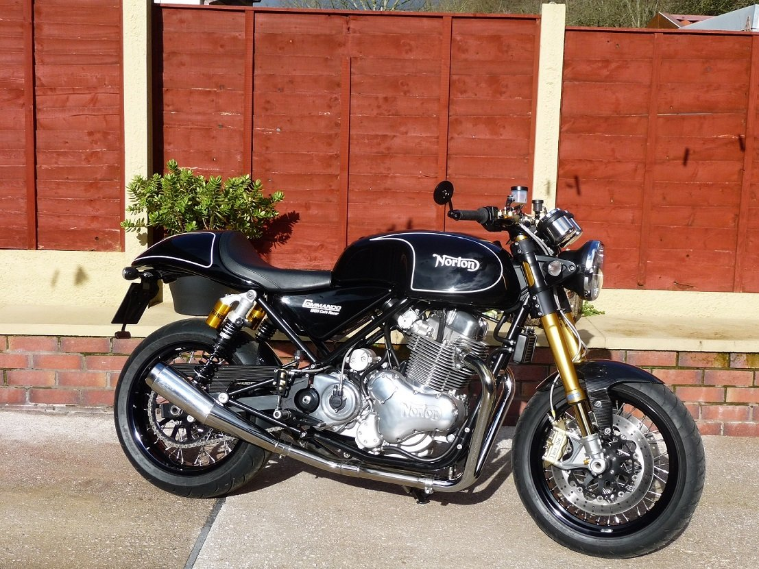 2012 NORTON 961 CAFE RACER/SF.  SOLD (picture 6 of 6)