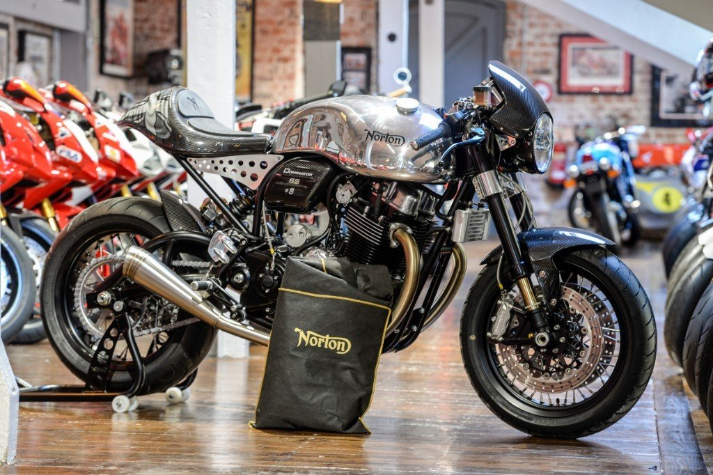 2016 Norton Dominator SS No #08 of 200 immaculate example For Sale (picture 1 of 6)