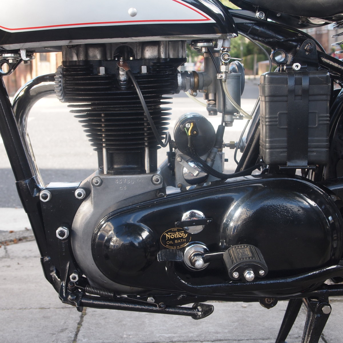 1952 Norton ES2 500 Brooklands Ltd Edition Cafe Racer, WoW. For Sale (picture 3 of 6)