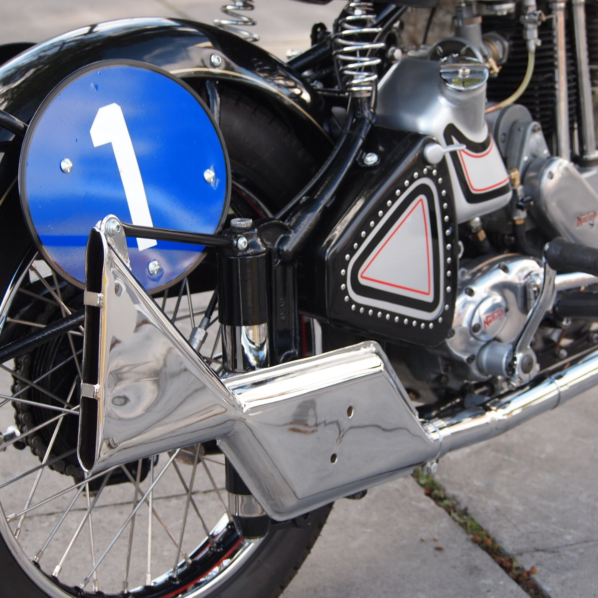 1952 Norton ES2 500 Brooklands Ltd Edition Cafe Racer, WoW. For Sale (picture 5 of 6)