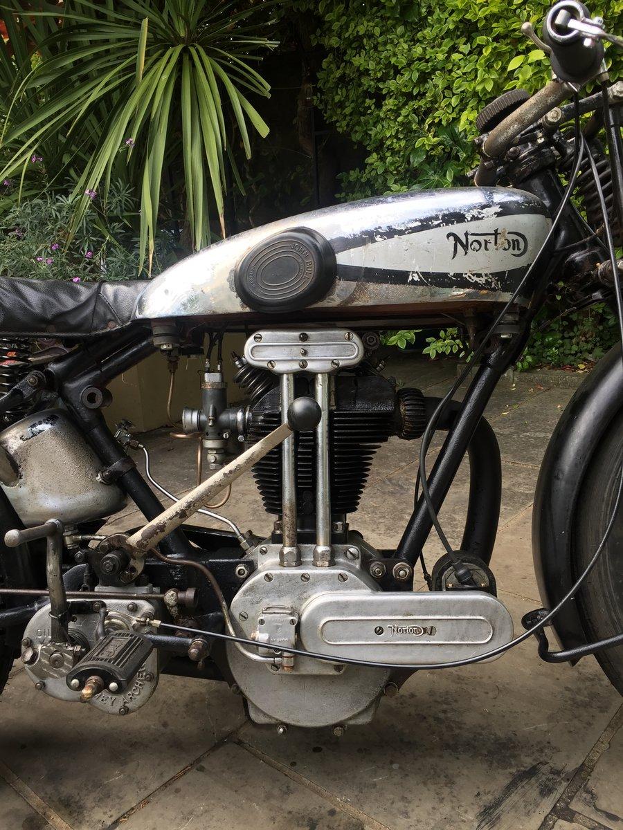 1930 Norton Model 18 unrestored For Sale (picture 4 of 6)
