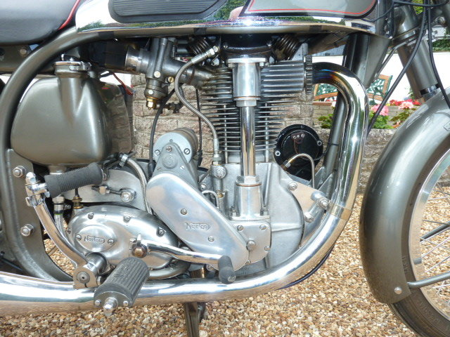 1955 Norton Inter Mod.30 Immaculate For Sale (picture 4 of 6)