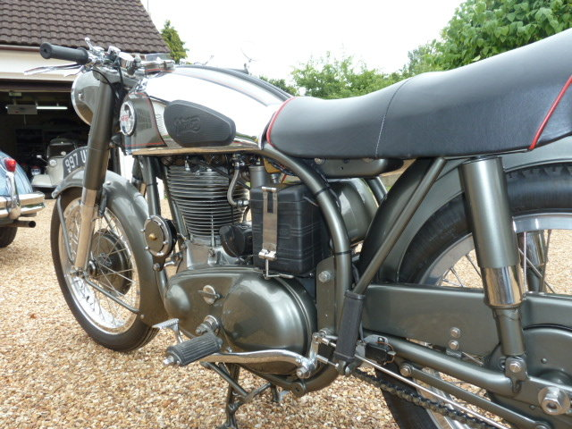 1955 Norton Inter Mod.30 Immaculate For Sale (picture 5 of 6)