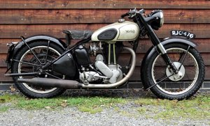Norton model 18 Matching Numbers Un-restored