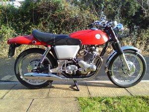 Jan 1969 Norton Commando Fastback