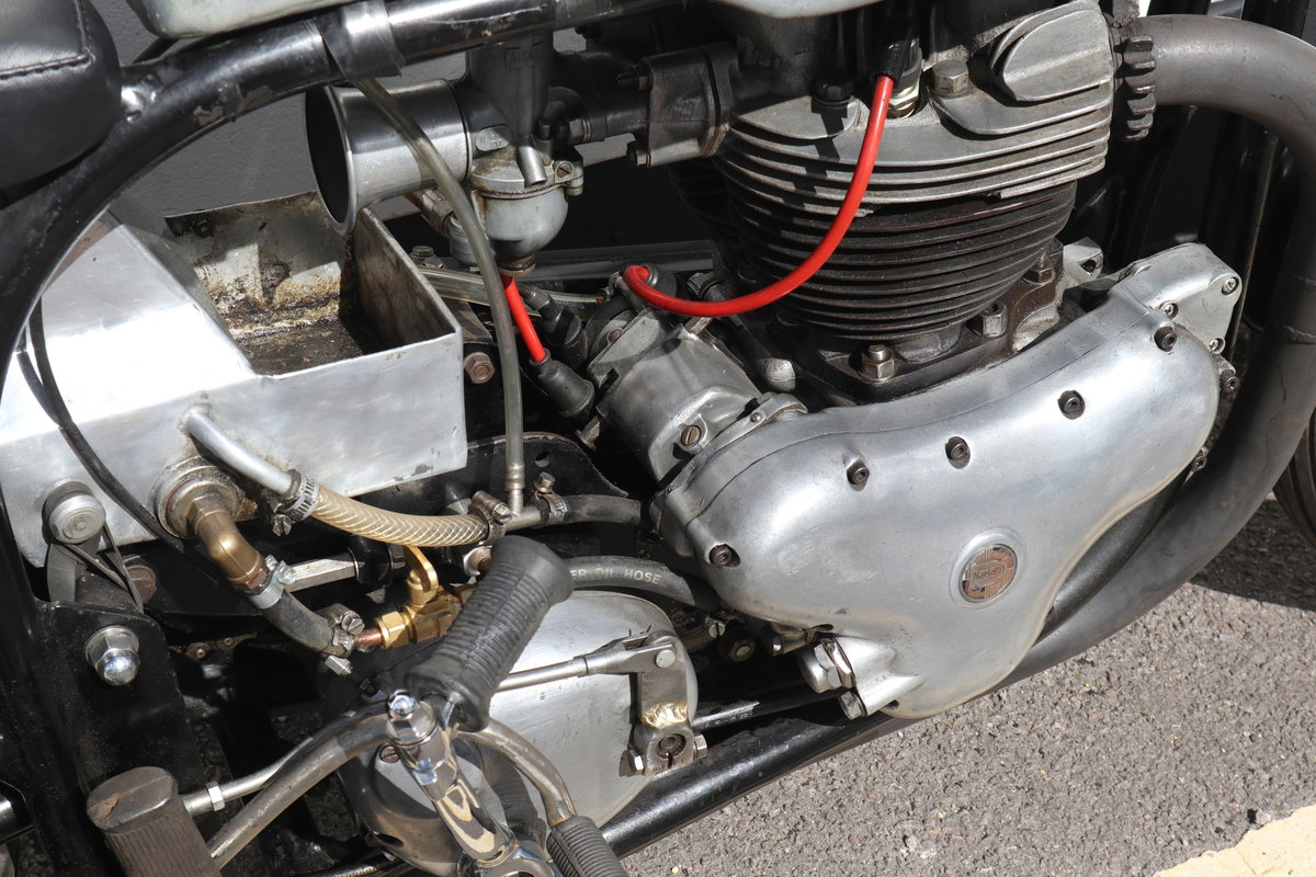 1958 Norton Dominator 99 650 Classic Racer For Sale (picture 5 of 6)