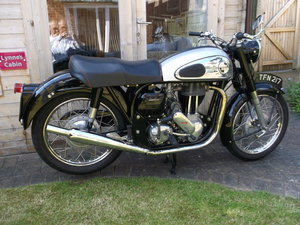 1959 Norton Model 19 Wideline