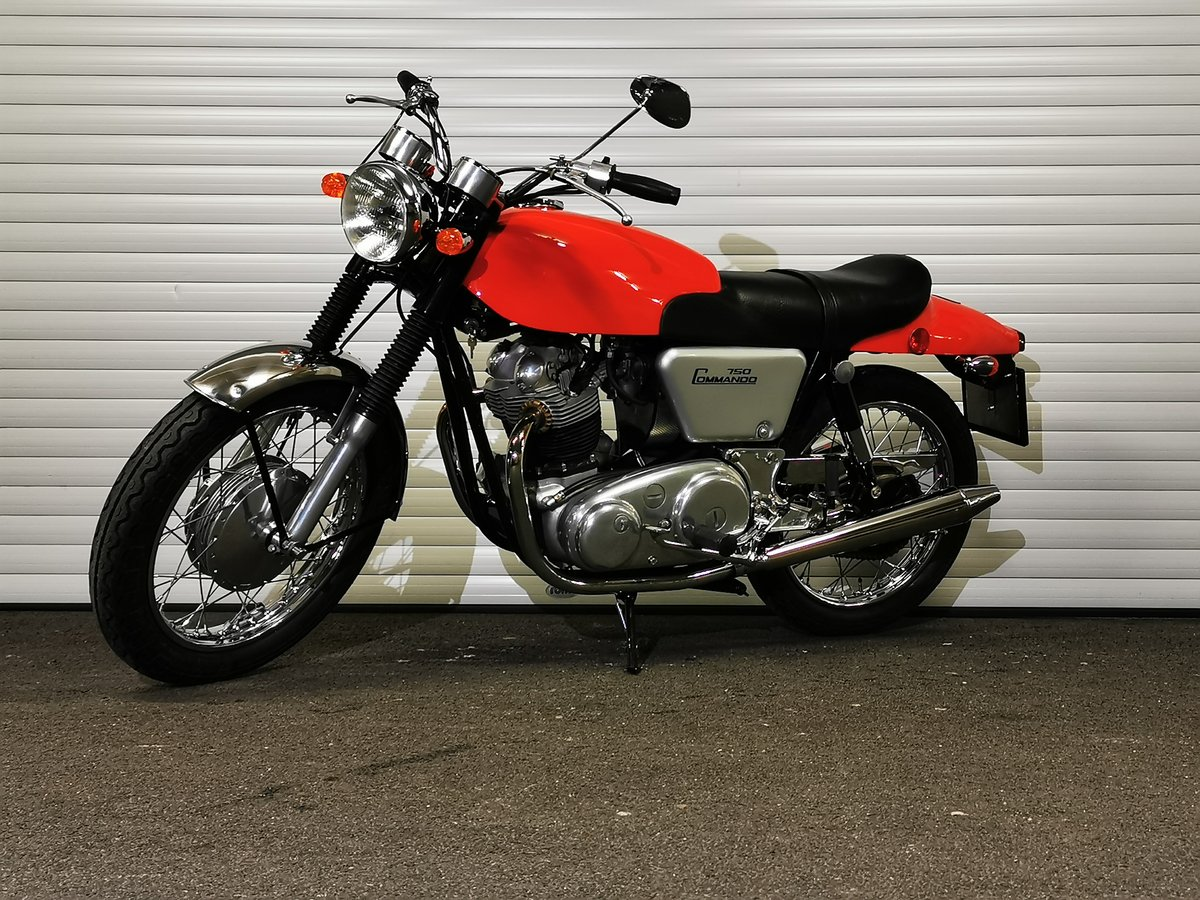 1968 Norton 750 Fastback Restored Matching Numbers For Sale (picture 1 of 6)