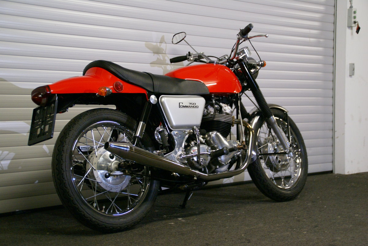 1968 Norton 750 Fastback Restored Matching Numbers For Sale (picture 4 of 6)