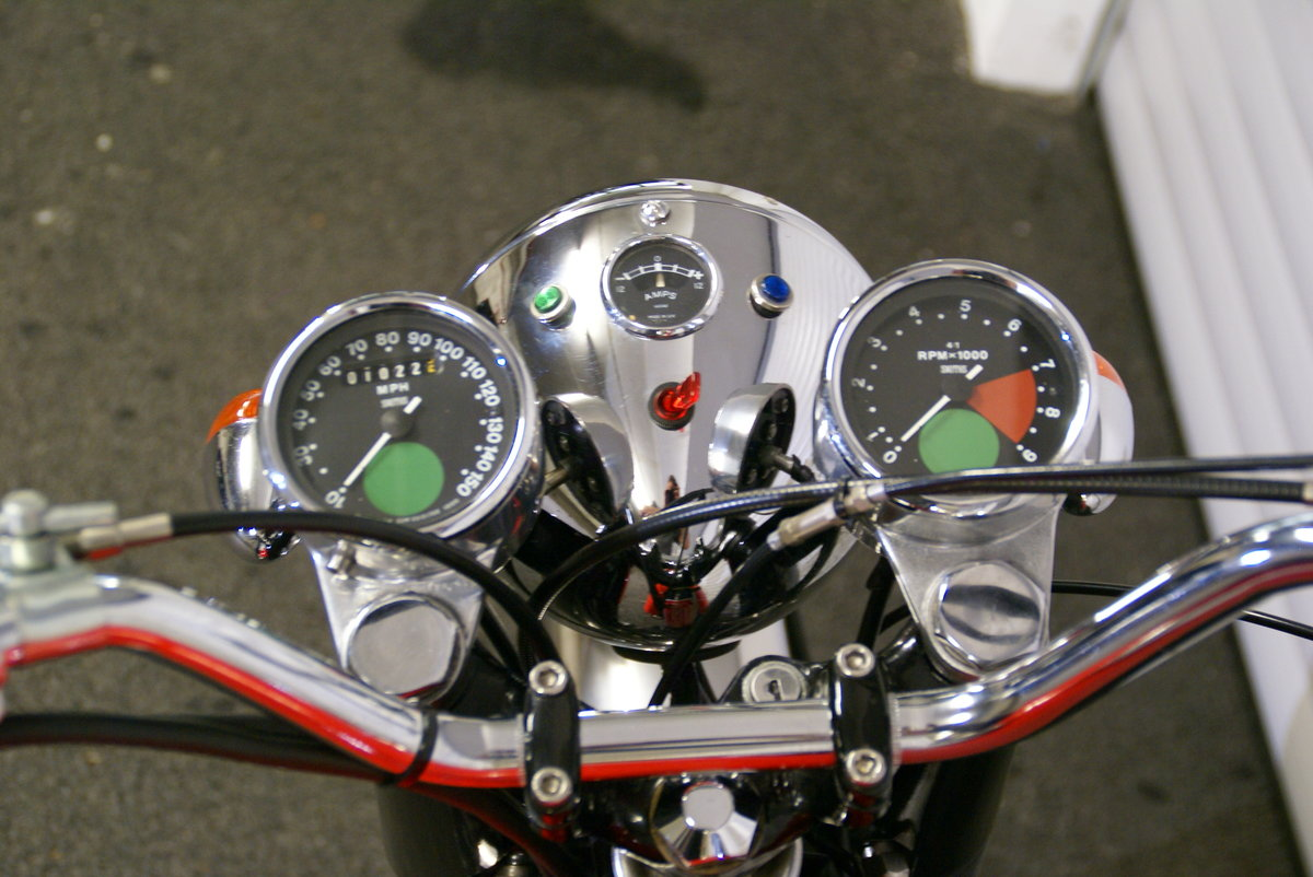 1968 Norton 750 Fastback Restored Matching Numbers For Sale (picture 6 of 6)