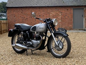1954 Norton Dominator Type 7 500cc. Restored Bike