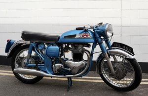 1962 Norton 650SS - Very Rare In Blue, Original From Factory