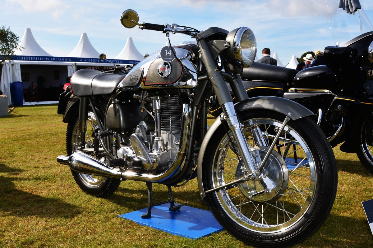 1955 Norton Inter Mod.30 Immaculate For Sale (picture 5 of 9)