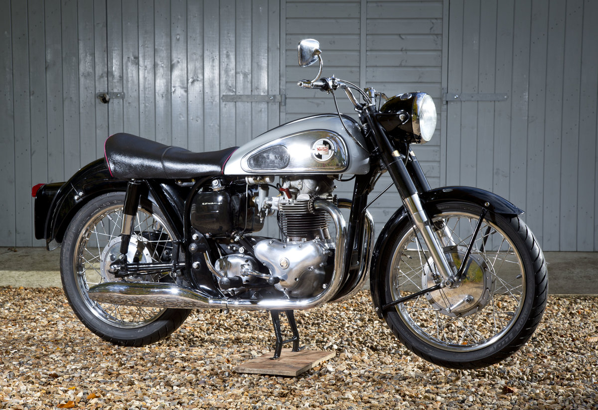 1958 Stunning Norton Dominator 99 600cc SOLD (picture 1 of 6)