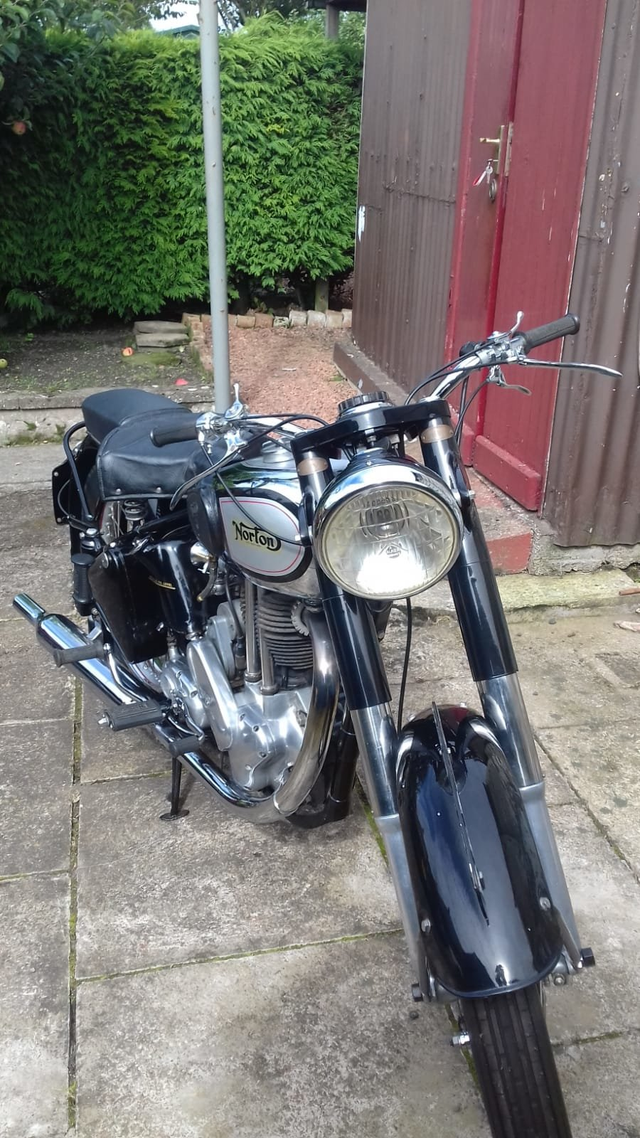 1950 Norton ES2 Full Early Restoration SOLD (picture 1 of 4)