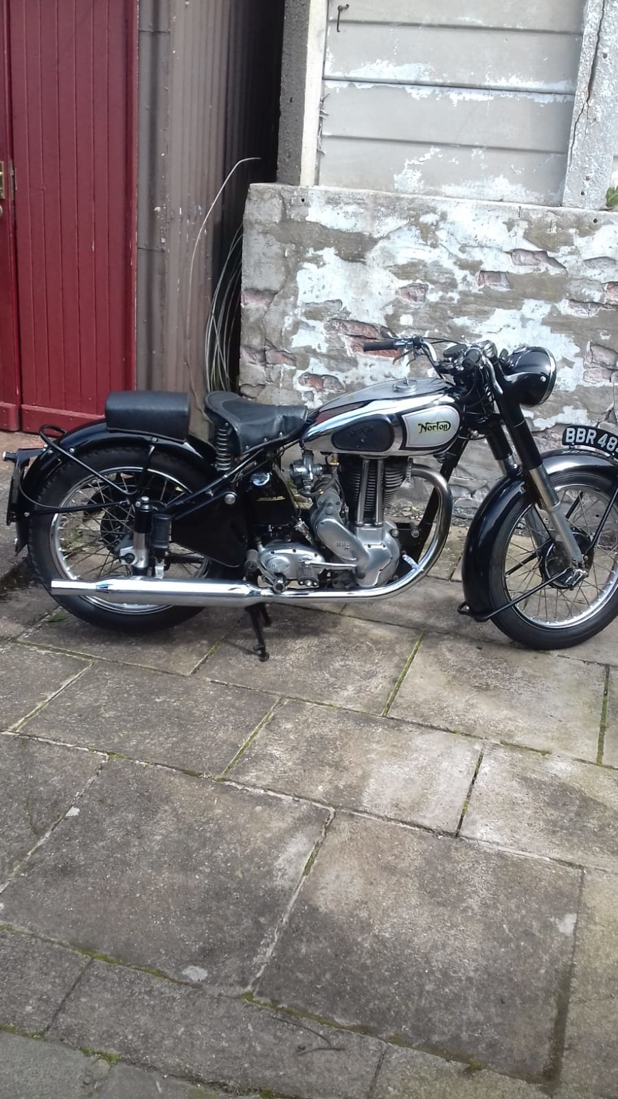 1950 Norton ES2 Full Early Restoration SOLD (picture 2 of 4)