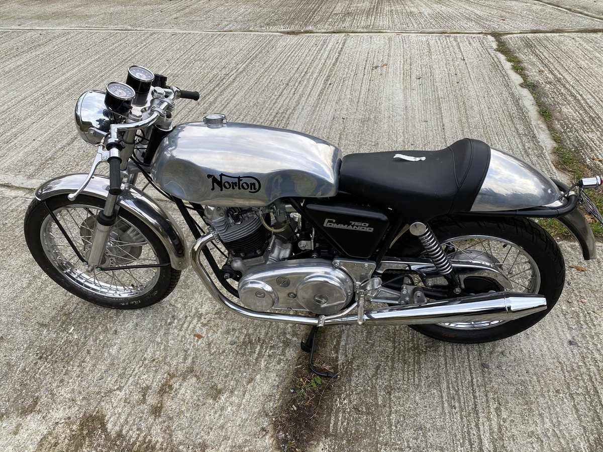 1972 Norton 750 Commmando Cafe Racer (New) For Sale (picture 6 of 6)
