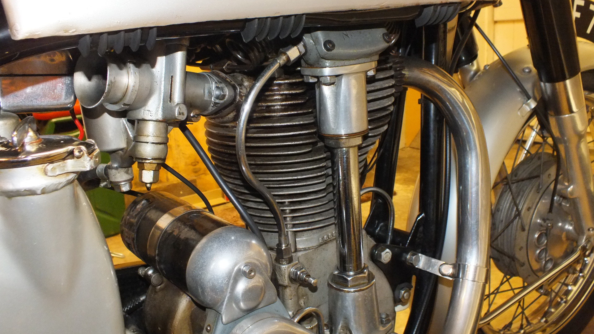 1956 Norton Featherbed International 500cc For Sale (picture 3 of 5)