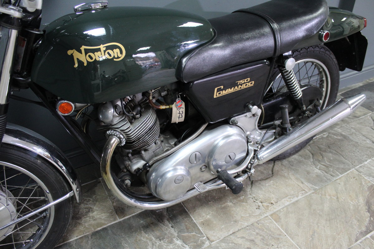 1971 Norton Commando 750 CC SOLD (picture 3 of 4)