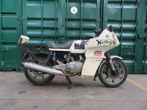 Picture of 1984 Norton 588cc Interpol Project