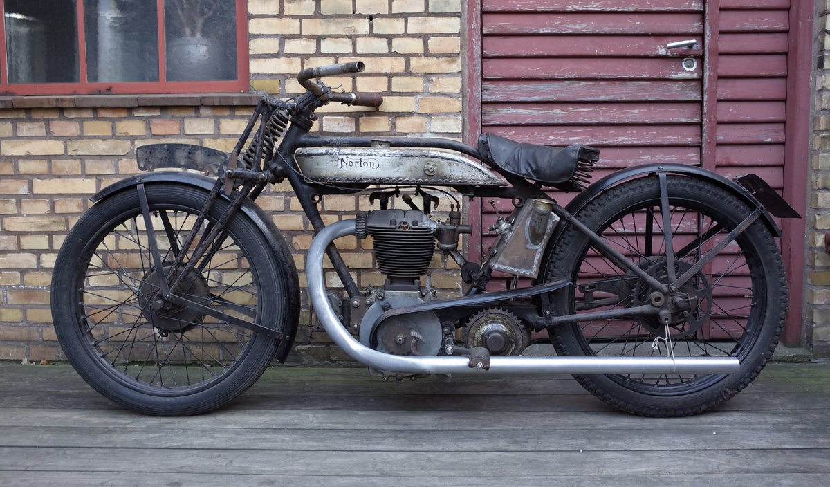 1927 Norton Model 18 Matching numbers. For Sale (picture 1 of 6)