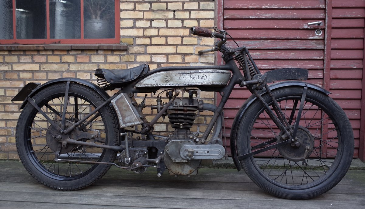 1927 Norton Model 18 Matching numbers. For Sale (picture 3 of 6)