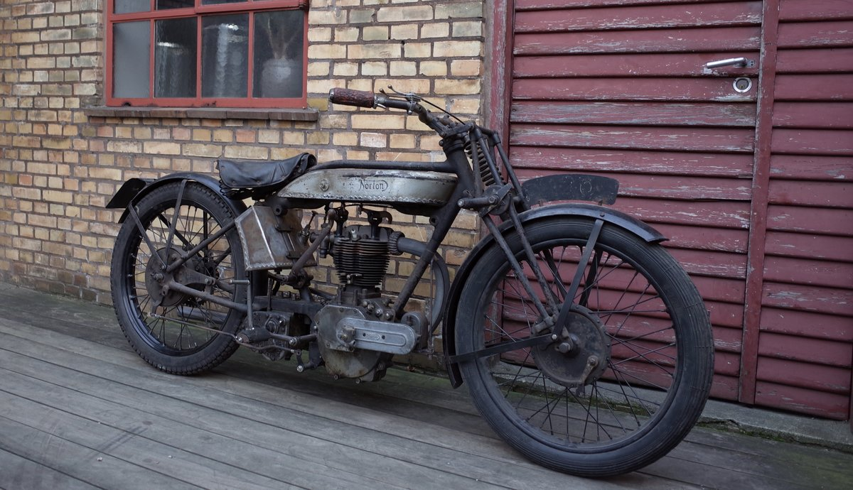 1927 Norton Model 18 Matching numbers. For Sale (picture 4 of 6)