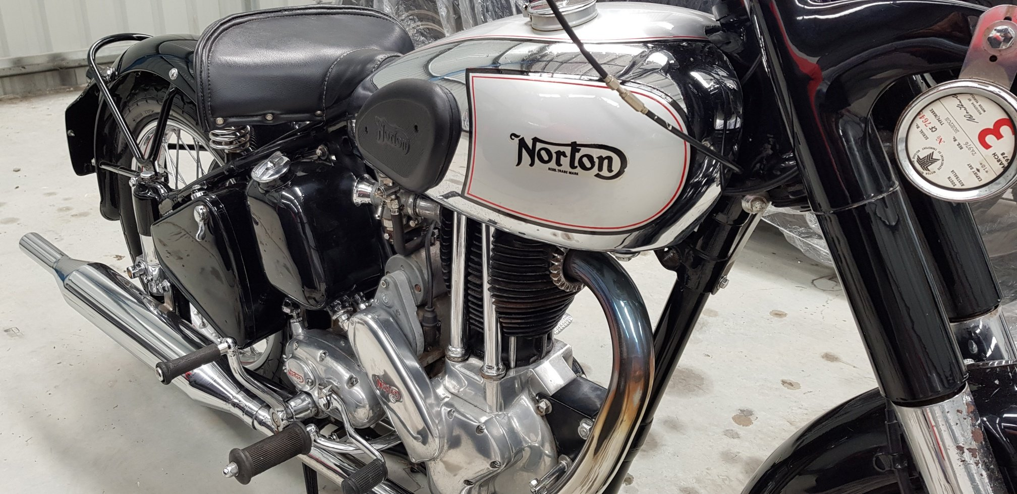 1954 Norton ES2 by Firma Trading Australia For Sale (picture 2 of 6)