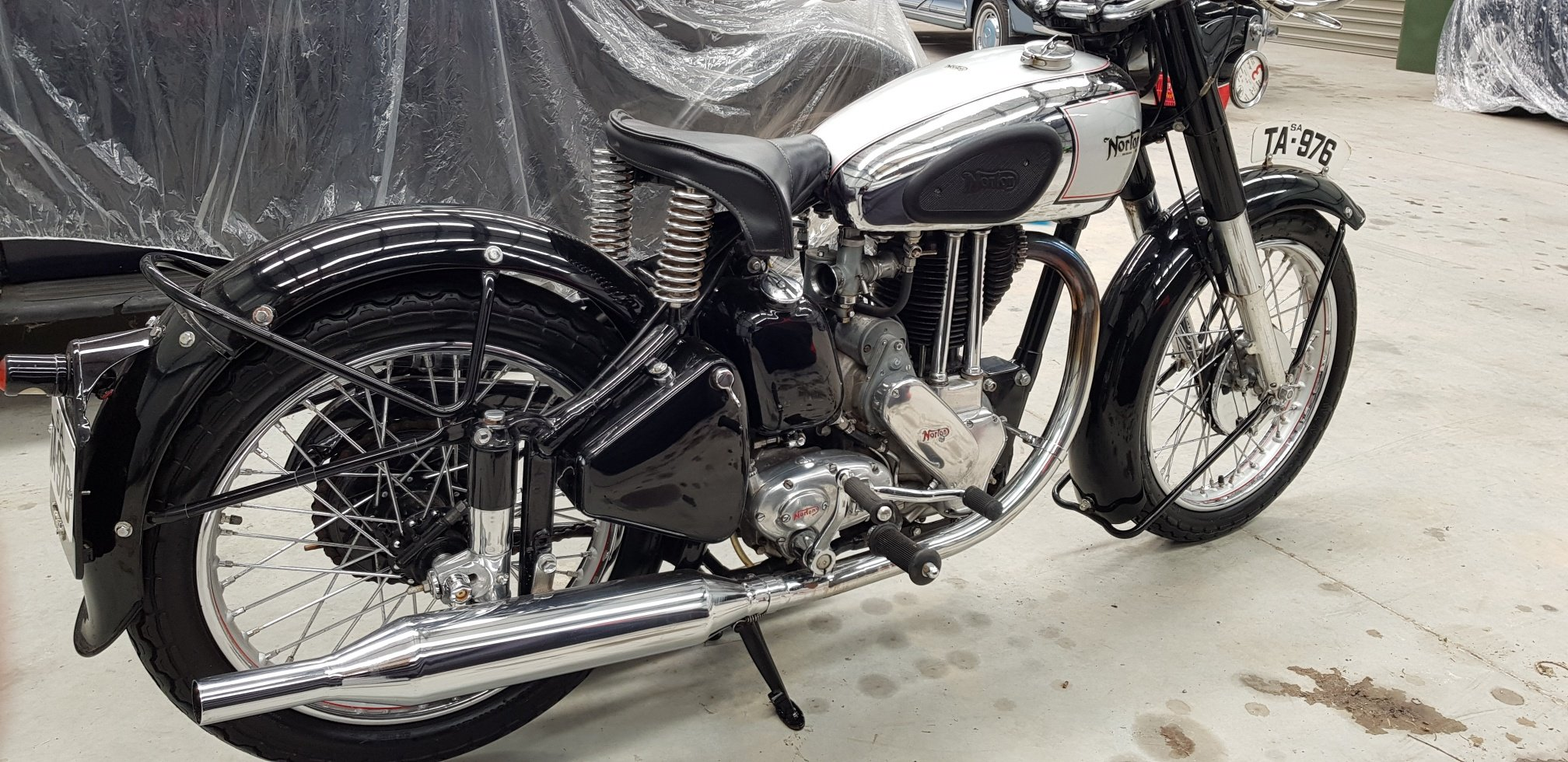 1954 Norton ES2 by Firma Trading Australia For Sale (picture 3 of 6)