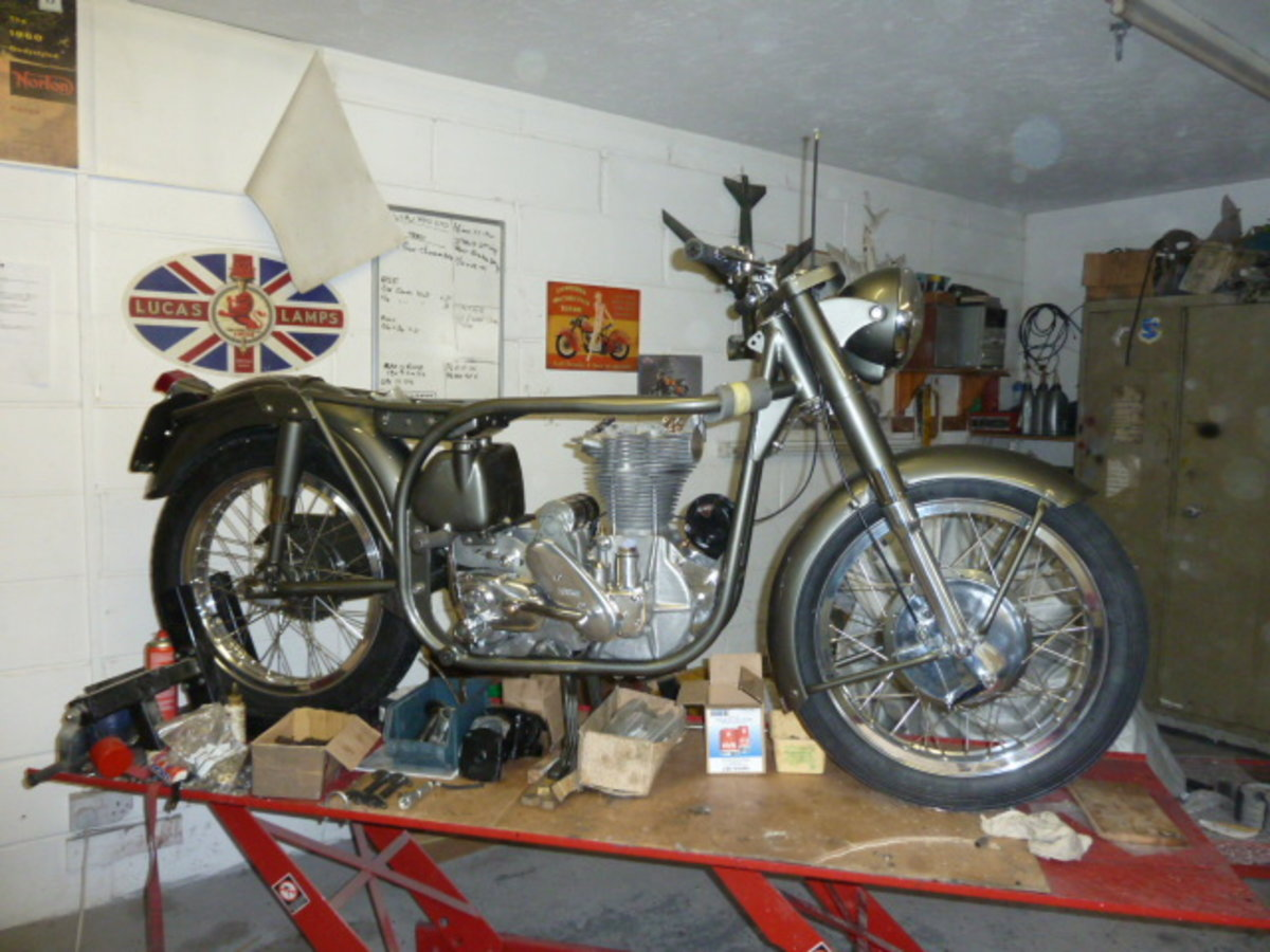1955 Norton Inter Mod.30 Immaculate For Sale (picture 6 of 9)