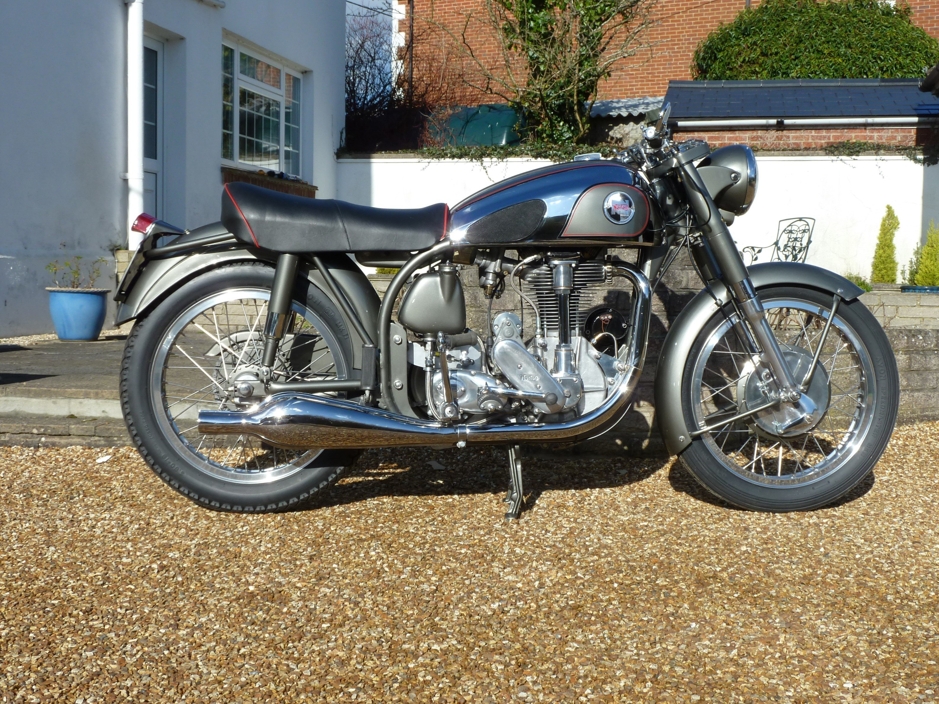 1955 Norton Inter Mod.30 Immaculate For Sale (picture 8 of 9)