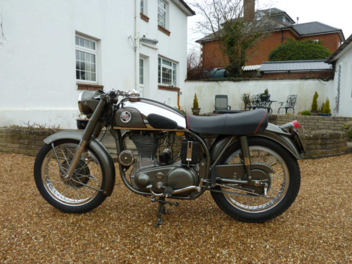 1955 Norton Inter Mod.30 Immaculate For Sale (picture 9 of 9)