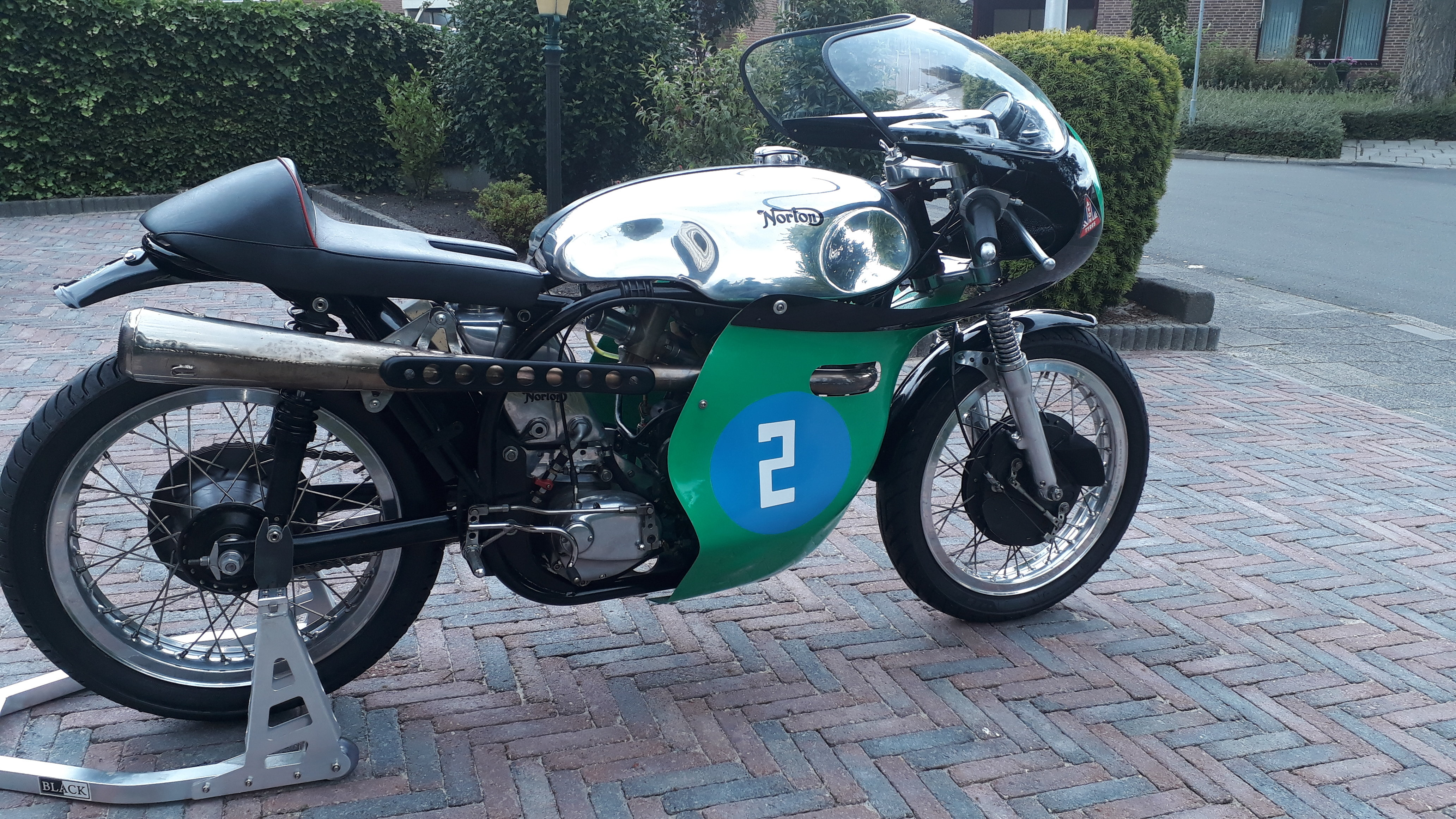 1961 Norton manx classicracer 40m. For Sale (picture 2 of 4)