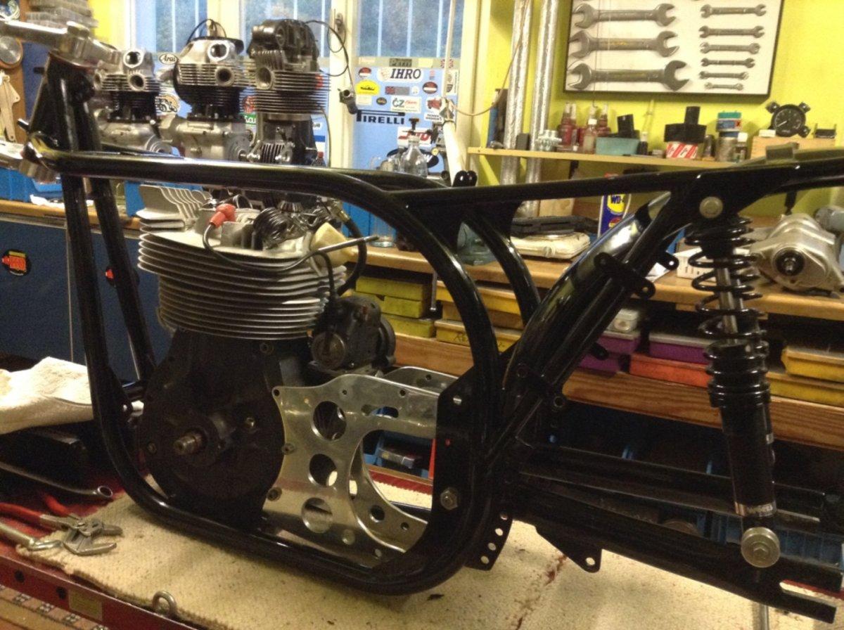 1961 Norton manx classicracer 40m. For Sale (picture 4 of 4)