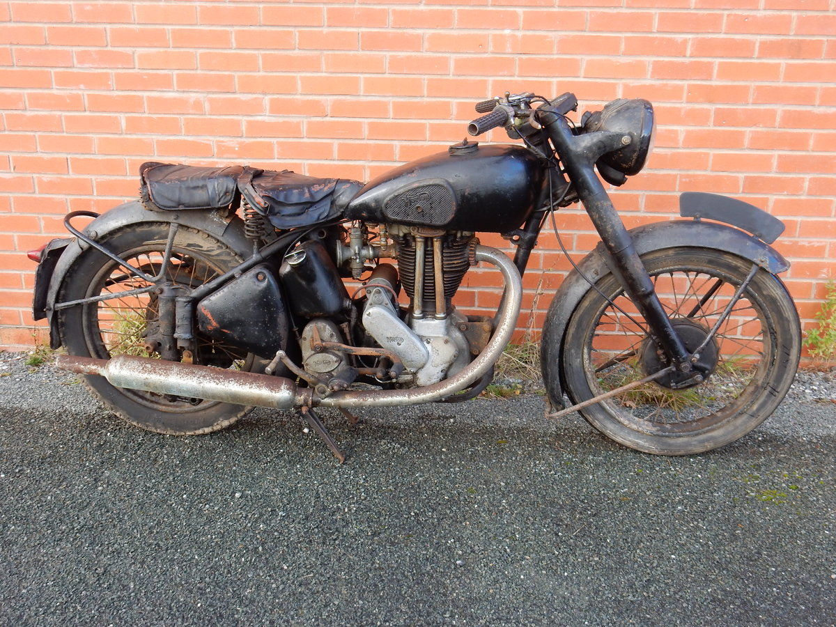 Norton ES2 490cc  1948  Matching Frame & Engine Nos For Sale (picture 1 of 12)