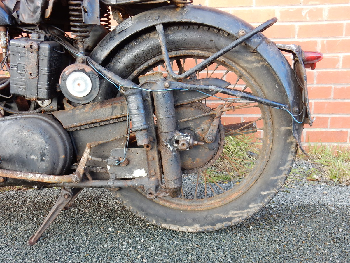 Norton ES2 490cc  1948  Matching Frame & Engine Nos For Sale (picture 3 of 12)