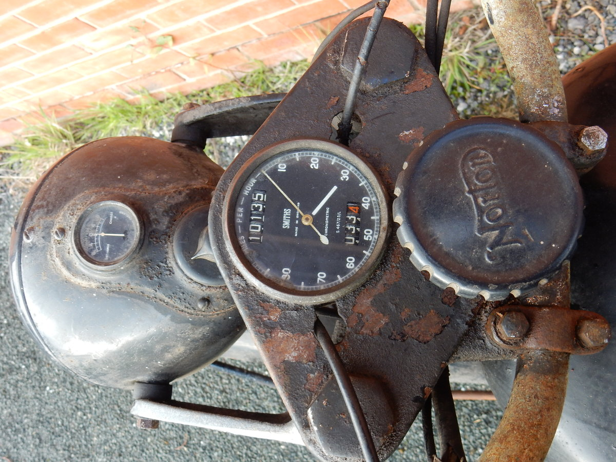 Norton ES2 490cc  1948  Matching Frame & Engine Nos For Sale (picture 8 of 12)