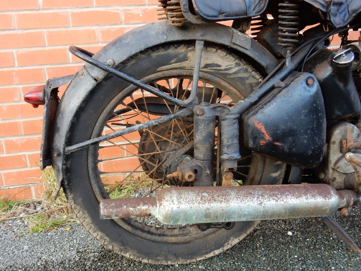 Norton ES2 490cc  1948  Matching Frame & Engine Nos For Sale (picture 9 of 12)