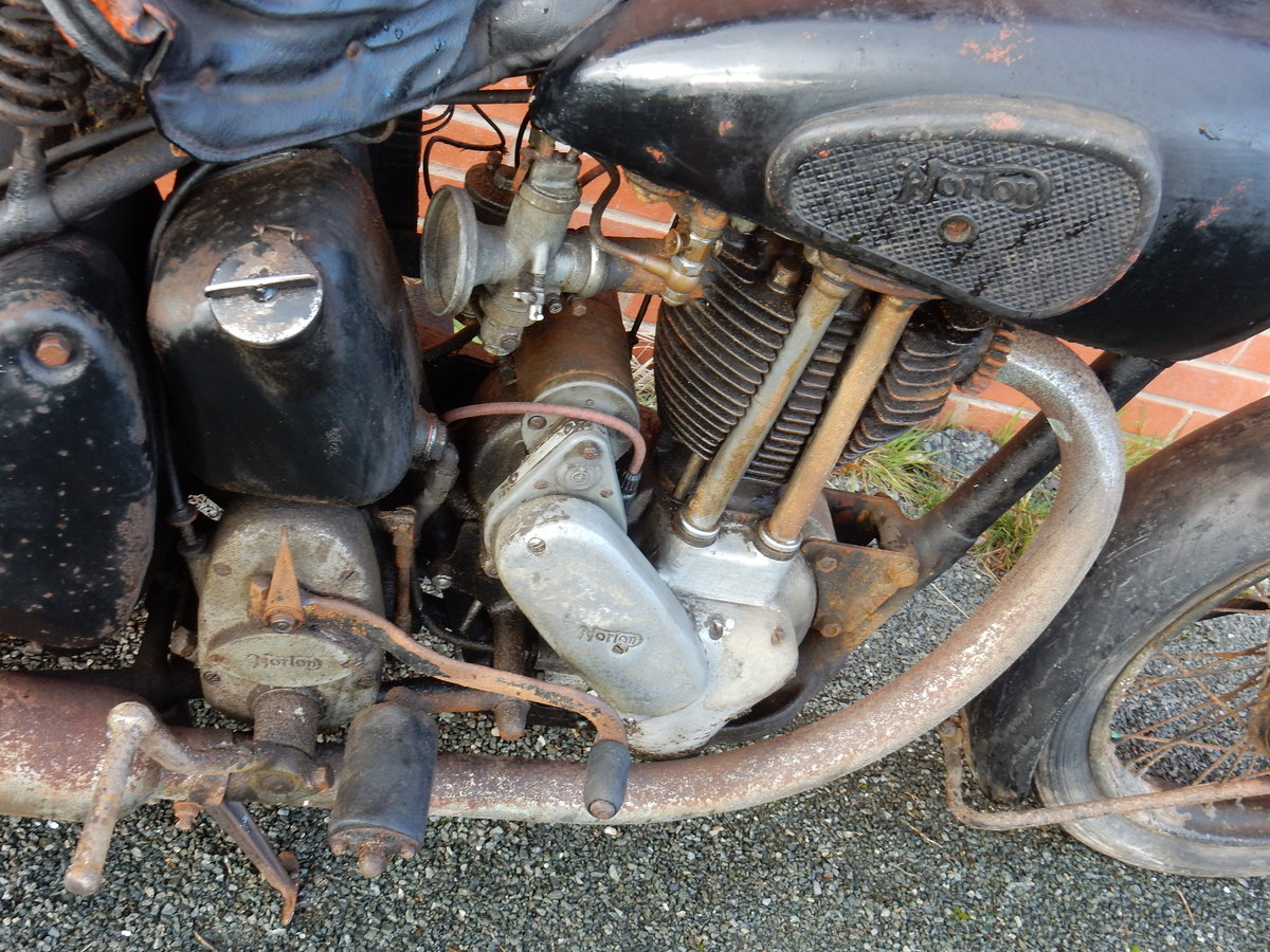 Norton ES2 490cc  1948  Matching Frame & Engine Nos For Sale (picture 10 of 12)