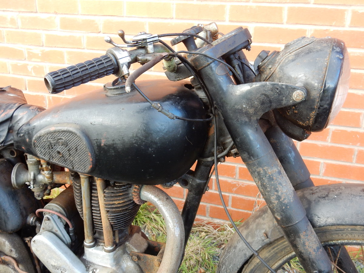 Norton ES2 490cc  1948  Matching Frame & Engine Nos For Sale (picture 12 of 12)