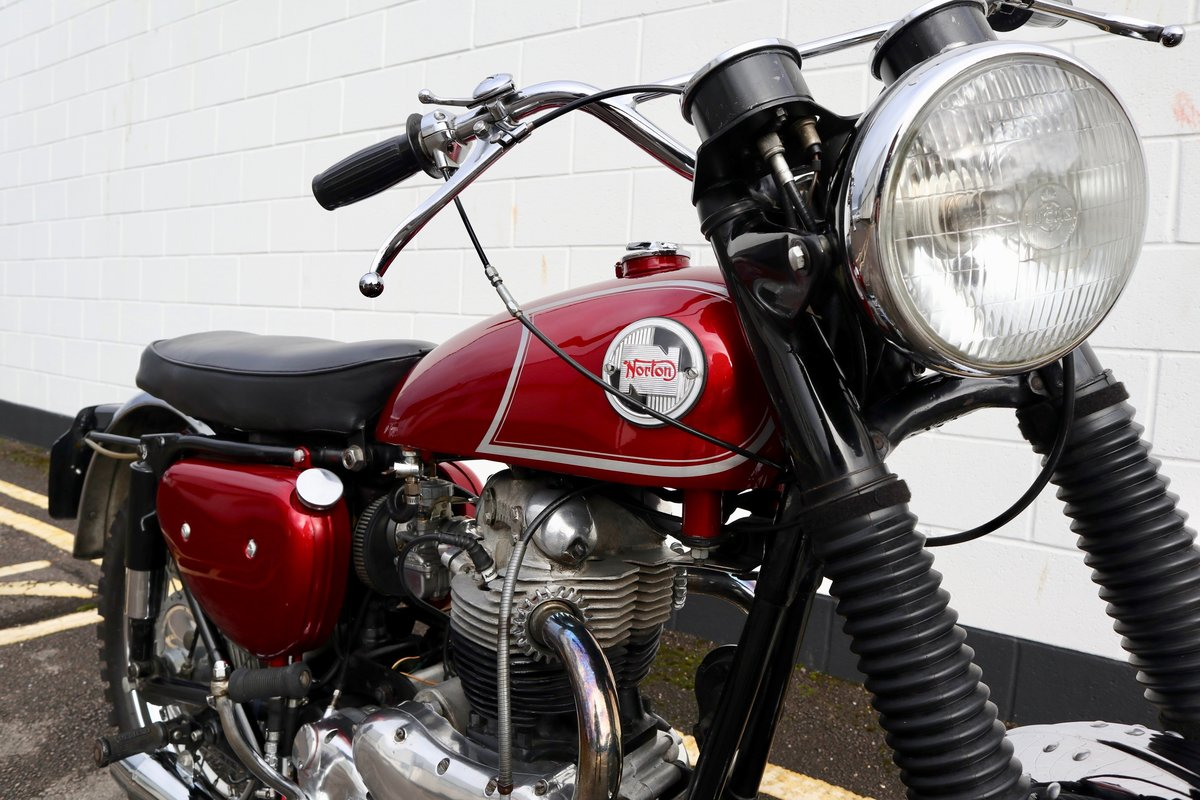 1965 Norton N15 CS 750cc - Original Matching Numbers SOLD (picture 7 of 20)