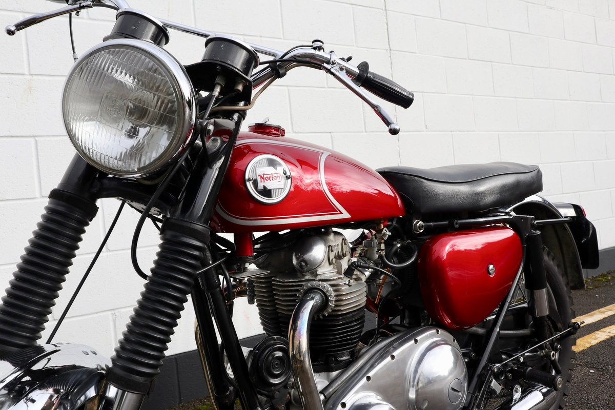 1965 Norton N15 CS 750cc - Original Matching Numbers SOLD (picture 8 of 20)