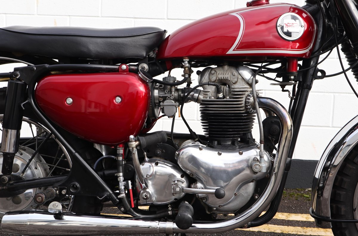 1965 Norton N15 CS 750cc - Original Matching Numbers SOLD (picture 9 of 20)