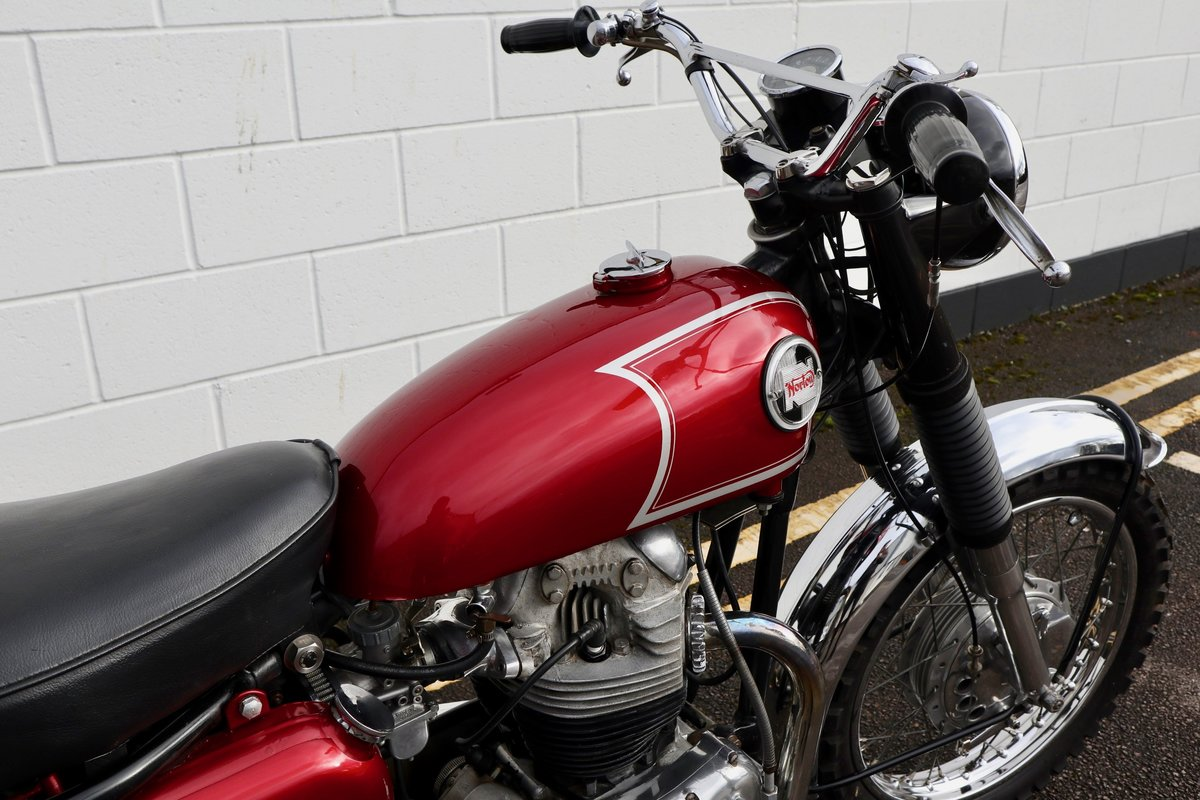 1965 Norton N15 CS 750cc - Original Matching Numbers SOLD (picture 18 of 20)